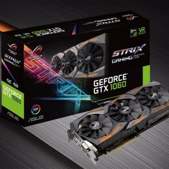 Harga ASUS ROG STRIX-GTX1060-6GB-GAMING GRAPHIC CARD