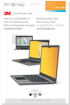 3M™ Laptop Privacy Filter - Gold - GPF13.3W9