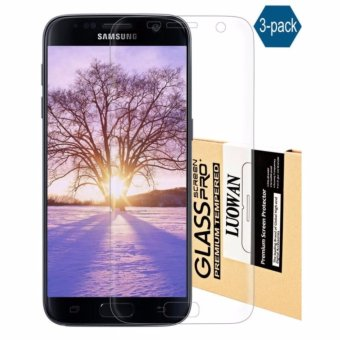 Harga Galaxy S7 Edge Screen Protector, LucaSng [3-Pack][HD Ultra Clear Film] [Full Coverage] PET Screen Protectors - intl