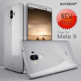 Roybens Ultra-thin Soft TPU Protective Back Cover Case For Huawei Mate 9 Clear - intl