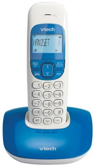 Harga VTECH VT1301 BLUE Digital Cordless Phone (Single Unit)