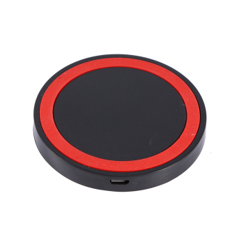 Harga Universal Qi Wireless Power Charging Charger Pad For Samsung iPhone (Red) - intl