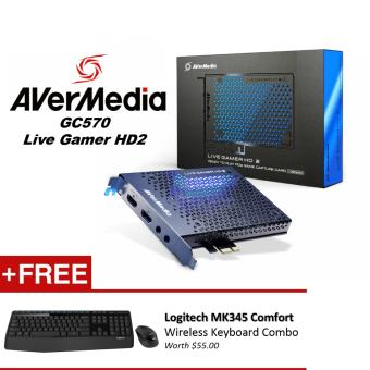 AVerMedia Live Gamer HD 2 (GC570), Full HD1080p 60fps Record and Stream, Multi-Card Support, Low-Latency, Pass-Through, Real-Time Gameplay PCIe
