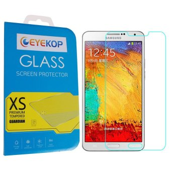 Harga Buy one, get one free Premium Tempered Glass Film Screen Protector for Samsung Note 3 N9005 (Clear)