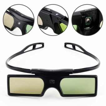 1x Detachable Wearing G15-DLP DLP-link Active Shutter 3D Movie Game Glasses - intl