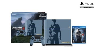 Harga PS4 500GB Uncharted 4 Limited Edition Bundle