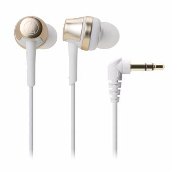 Harga Audio-Technica ATH-CKR50iS In Ear Headphones for Smartphone (Champagne Gold)