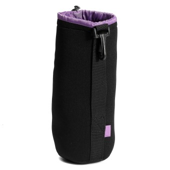 Harga Thick Protective Neoprene Drawstring Pouch Bag Case Cover For DSLR Camera Lens XL