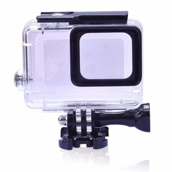 Harga Gopro hero 5 Accessories 45m Underwater Waterproof Housing Case Shell Protector for Gopro Hero 5 Surfing and Diving - intl
