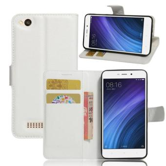 Harga BYT Leather Flip Cover Case for Xiaomi Redmi 4A - intl