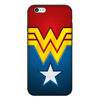 Harga Wonder Woman Pattern Cell Phone Case Cover For Apple iPhone 6 / 6S - intl