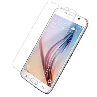 Harga 9H tempered Glass For Samsung S6