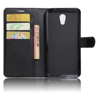 Harga PU Leather Wallet Case Cover For Lenovo Vibe P2 C72 - intl