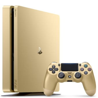 Harga PS4 500GB Slim Console 2006A Model - Gold (Singapore Model)