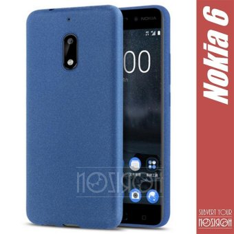 NOZIROH Nokia 6 Matte Silicon Phone Cover ( 5.5 inch ) Nokia 6 Soft Silicon Phone Case - intl