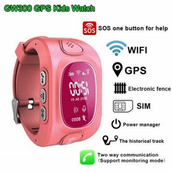 Harga Smartwatch Y3 Support SIM card Smart kids Watch GPS Tracker Watch Children Watch for Android & IOS - intl