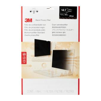 3M Laptop Black Privacy Filter PF14.1 (4:3)