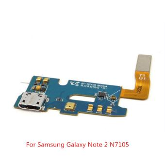 Harga OEM USB Charging Port Connector Mic Flex Cable for Galaxy Note 2 N7105 - intl