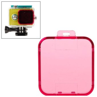 Harga Snap-on Dive Filter Housing for Xiaomi Xiaoyi(Magenta)