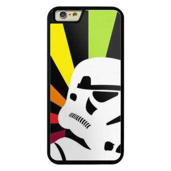 Harga Phone case for iPhone 6Plus/6sPlus Star War Stormtroopers Colorful Background cover for Apple iPhone 6 Plus / 6s Plus - intl