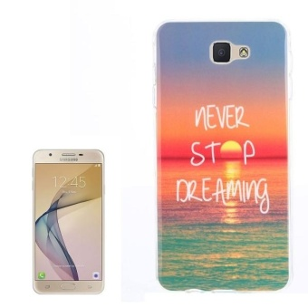 Harga For Samsung Galaxy J7 Prime / On 7 (2016) Sunrise Pattern TPU Back Case - intl