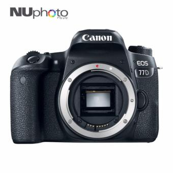 Harga Canon EOS 77D (Body Only) (FREE SanDisk 16GB SD Card)