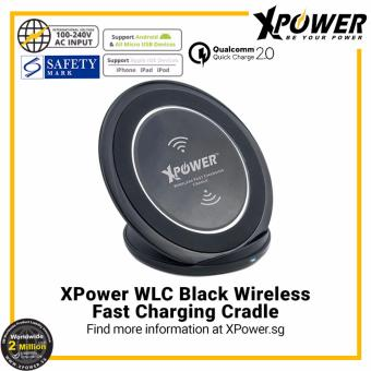 Harga XPower WLC Wireless Fast Charging Cradle Black(Black)