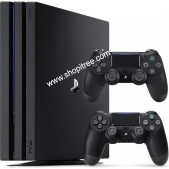 Harga PS4 1TB Pro Console + EXTRA FREE Dual Shock 4 Controller with Singapore Sony Warranty (Black)