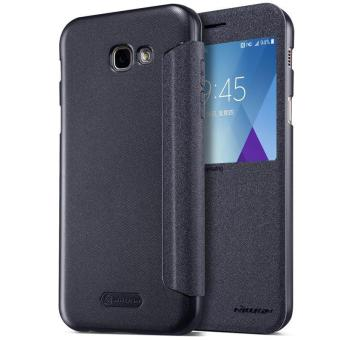Harga Nillkin Leather Case Sparkle Series Super Thin Flip Cover for Samsung Galaxy A5 2017 / A520F - intl