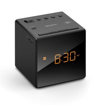 Harga Sony Singapore ICF-C1 Clock Radio (Black)