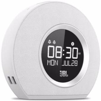 Harga JBL Horizon Bluetooth Clock Radio (WHITE)