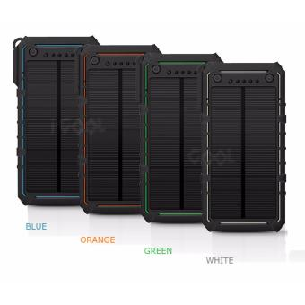 Harga (NEW) 38000mAh Dual USB Port Solar Powerbank