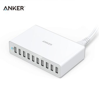 Harga 10 Port USB Charger Fast Adapter Charging Station - intl