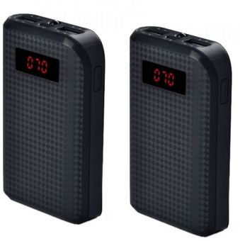 Harga REMAX Proda 10,000mAh Portable Power Bank / Portable Charger Battery Black