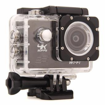 Harga Ultra HD 4K WiFi Action Camera 30M waterproof Sport Camcorder