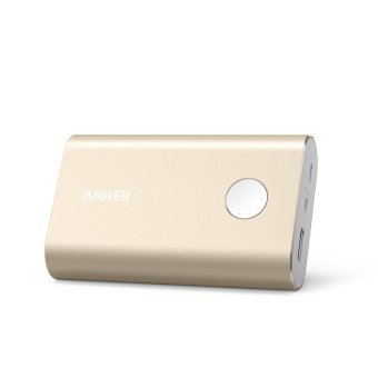 Harga Anker PowerCore+ Quick-Charge 10050 Power Bank (Gold)