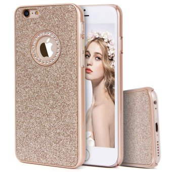 Harga Sparkle Glitter Bling Fashion Luxury Beauty Protective Hard PC Case Cover For Apple iPhone 6s/6 4.7 - intl