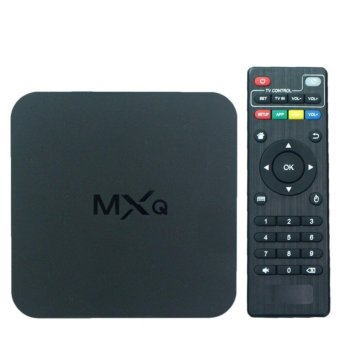 Harga MXQ Android 6.0 Smart TV Box 1G / 8G Multimedia Player TV Receiver Android 3D 4K TV Box Streaming Media Player - intl