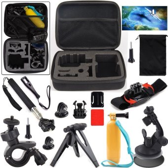Harga Action Sports Camera Accessories Kit for SOOCOO/SJCAM/Gopro Action Camera