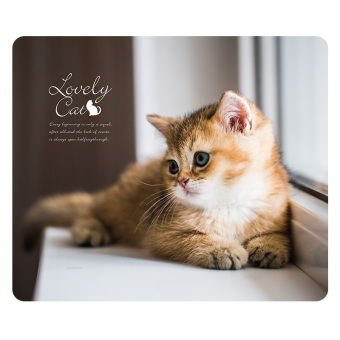 Harga Met you really good cat mouse pad soft rubber mat Cool small fresh pet computer pad