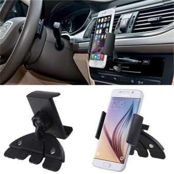 Harga Universal Auto Car CD Slot Phone Holder Adjustable Cell Mobile Phone Holders For Iphone 6 For Samsung Holders - intl