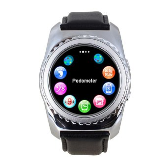 Harga 2017 NEW Bluetooth Smart Watch GSM Smartwatch for Android IOS fastion top quality - intl
