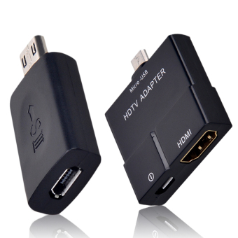 Micro USB MHL to HDMI HDTV Adapter 5 Pin Female to 11 Pin Male Adapter