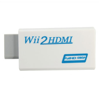 Harga Wii to HDMI Wii2HDMI Full HD FHD 1080P Converter Adapter 3.5mm Audio Output Jack
