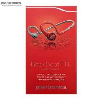 Harga Plantronics BackBeat FIT Bluetooth Headphones Lava Red