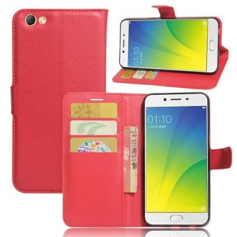 Harga BYT Leather Flip Cover Case for Oppo R9s Plus - intl