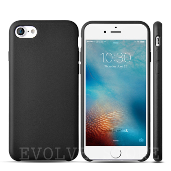 Roybens Ultra-Thin Matte Soft TPU Slim Back Case Cover For Apple iPhone 7 Black