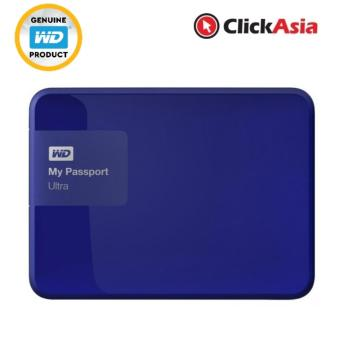 Harga WD My Passport Ultra 2TB Portable HDD USB 3 - Blue (WDBBKD0020BBL)