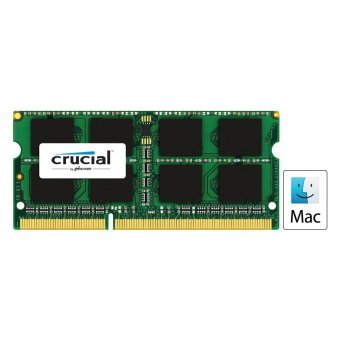 Harga Crucial 4GB DDR3L 1866MHz SO-DIMM Memory for Mac Module (CT4G3S186DJM) - See Compatibility Chart