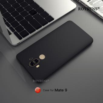 Roybens Ultra Thin Matte Soft Silicone Case Cover For Huawei Mate 9 Black - intl